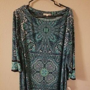 Dress plus size 22w